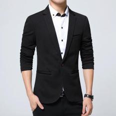 Panas Penjualan Merek Fashion blazer Kasual Pria Slim Fit Pria Jaket Pakaian Baju Gaun Pengantin Ukuran