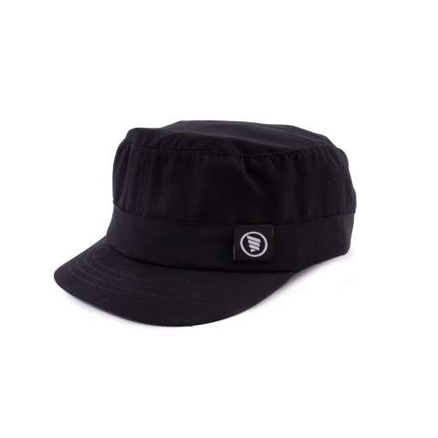 HRCN HSH 9214 topi snap back pria - bahan twill - simple dan keren (Black 1553b2a8dc
