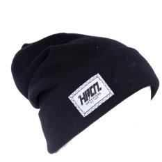 HRCN HWD 8022 topi kupluk pria - knitting - keren ( Hitam )