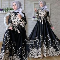 Humaira99 Gamis Syari Muslim Wanita Busui Dress Muslimah Catherina