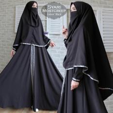 Humaira99 Gamis Syari Muslim Wanita Set Cadar Busui Gaun Muslimah  Maxi Dress Lengan Panjang Syar'i  Hijab Mostcreep