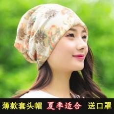 Di Musim Panas Set Kepala Topi Wanita Gaya Tipis Dari Serbaguna Sorban Topi Topi Yang Berventilasi Baik untuk Mempertahankan Romantis anak Luar Ruangan Musim Semi Musim Gugur Gaya Tidak dan Sangat Kemoterapi-Internasional