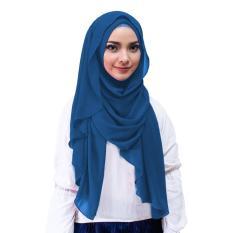 Inara Hijab Kerudung Instan - [Warna Biru Dongker]