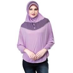 Montaza Hijab Jilbab Instan Hitam Kerudung Geblus Spandek Smr556 Source · Inficlo San 653 Kerudung Jilbab Syar i Wanita Spandek Cantik Ungu