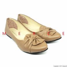 Isabel - Sepatu Balet Nina Flat Shoes - Coklat