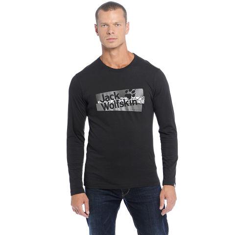 Jack Wolfskin - Wabana Black T-Shirt