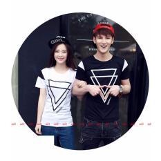 Jakarta Couple - Kaos Couple Double Triangle  Kaos Terbaru  Baju Pasangan Baju Kapel Kaos Kopel