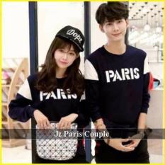Jakarta Couple - Sweater Couple Lp Paris Navy