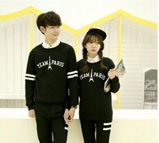 Jakarta Couple Sweater Pasangan Team Paris