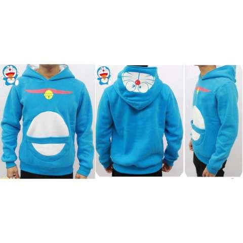 Jaket Doraemon Blue Sky Hoodie-Best Seller JMM