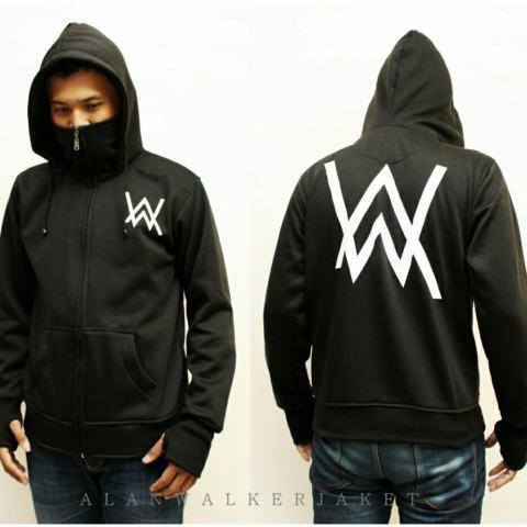 Jaket Parka Pria Bolak Balik Murah Simpel - BIru Merah Best Seller ... Source · jaket hoodie ninja alan walker dewasa-hitam