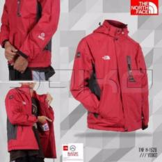 Jaket Outdoor/Gunung TNF Import Merah cedan olshop