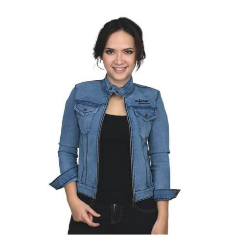 Jaket Wanita Denim Jeans Couple - Be 053