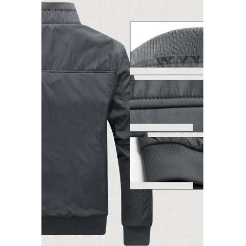 Jaket Waterproof Abu Abu Polos. Jacket Wp Anti Air Tahan Angin Jaket Motor/ Jaket