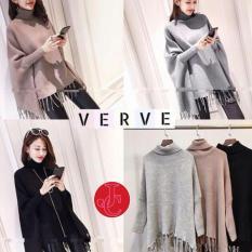 J&C Sweater Wanita Batwing Verve / Cardigan Rajut / Sweater Rajut
