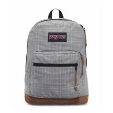 Jansport Right Pack Digital Edition Backpack-Black/White Suited Plaid - intl