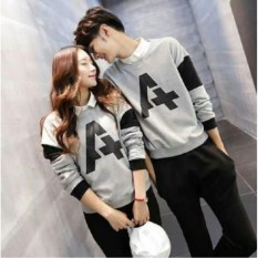 Jc- Sweater Couple A / Sweater Pasangan /Couple Termurah / Sweater Korea / Baju Couple