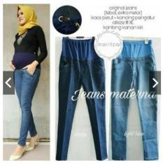 Jeans Maternna / Jeans Ibu Hamil/Celana Hamil Jeans