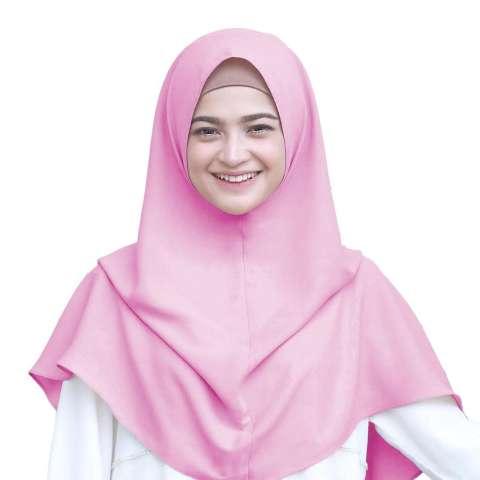 Maula Hijab Jilbab Kerudung Instan Khimar Tanpa Pet / Khimar Syari Siria