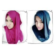 Jilbab Kerudung Instan langsung variasi spandex / rajut / tile /hijab