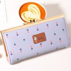 Jims Honey -  Cute Floral Fashion Wallet – Anna Wallet (Purple)