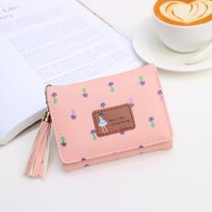 Jims Honey – Dompet Lipat Kecil Wanita – Pandora Wallet (Softpink)