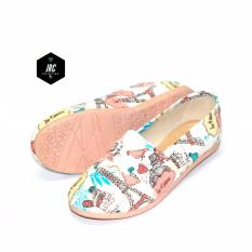 JRC colection-flatshoes slipon multicolor paris sejenis toms/wakai