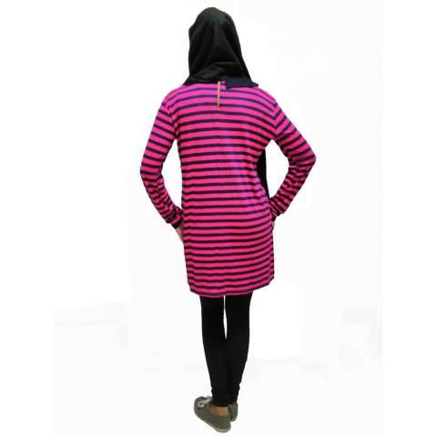 Just Mom Tanaya Baju Menyusui Lengan Panjang ? Pink 3