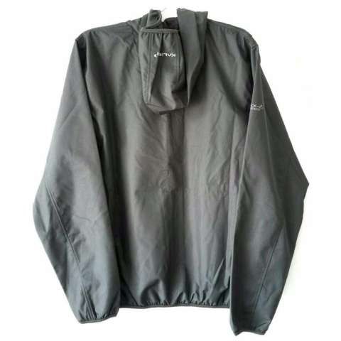 Home; Kalibre Vertex 1.2 Jaket Hoodie Outdoor Gunung Anti Air Waterproof Water Resistant Abu Grey