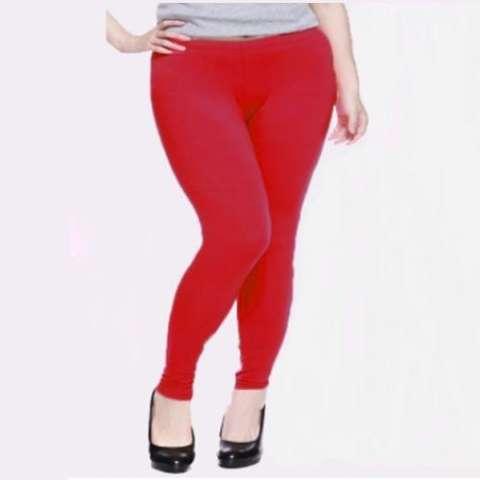Kaluna Legging Panjang Ukuran Jumbo Warna Merah Fit 3XL