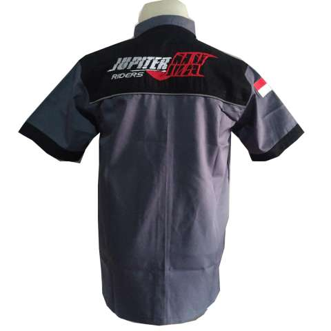 Kemeja Jupiter MX Bikers Yamaha Riders Distro Motor BONUS Stiker Merch CADEL Bandung 2