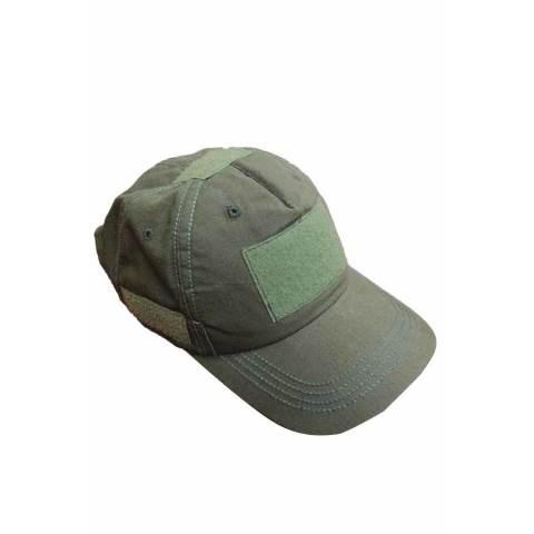 KamoGears Topi Loreng Velcro Army