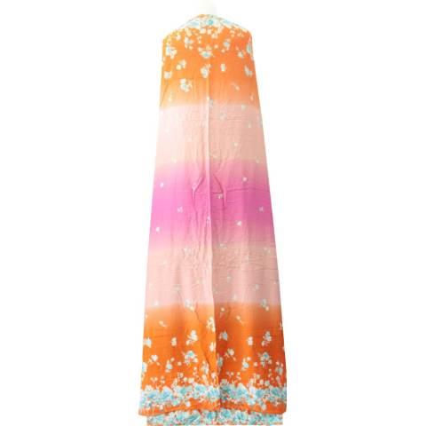 Kampung Souvenir - Mukena Bali Super Jumbo - Orange Pink