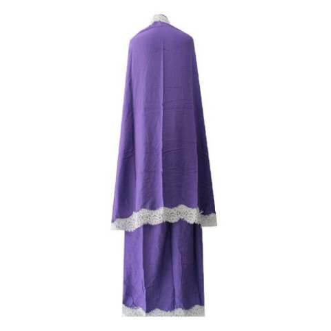 Kampung Souvenir - Mukena Renda - Soft Purple