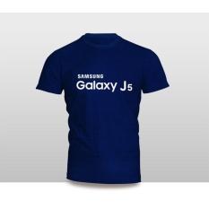 Kaos Baju Pakaian GADGET HANDPHONE Samsung GALAXY J5 FONT Murah