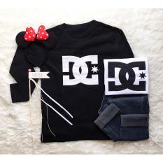 Cosenli Kaos DC PANJANG #G071002 T-shirt Wanita / Kaos Cewek / Tumblr Tee Cewek / Kaos Wanita Murah / Baju Wanita Murah / Kaos Lengan Pendek / Kaos Oblong / Kaos Tulisan