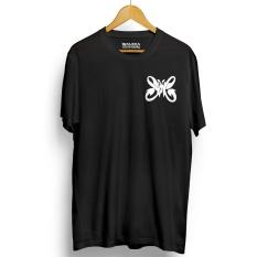Kaos Distro SLANK T-Shirt - Hitam