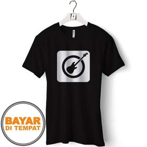 Kaos Distro T-Shirt Pria GITAR/GUITAR - GCP22