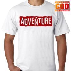 Kaos Premium KaosAjalah KAP / Baju Distro  / Tshirt Casual Pria Wanita / Fashion Atasan / Kaos Adventure Petualang / Kaos Distro Adventure 008