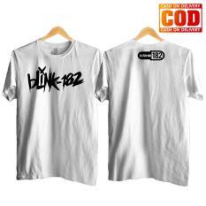 Kaos Premium KaosAjalah KAP / Baju Distro  / Tshirt Casual Pria Wanita / Fashion Atasan / Kaos Band Blink 182 / kaos musik 007