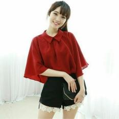 Kedai_baju Blouse Murah / Atasan Wanita / Gigi Blouse - Maroon