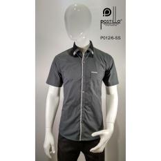 Kemeja Fashion Pria Slim Fit Postillo P012-6-SS