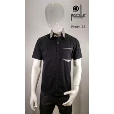 Kemeja Fashion Pria Slim Fit Postillo P046-4-SS