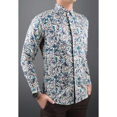 Kemeja Pria Batik Slimfit 8454 Koko Kombinasi Muslim Jeans