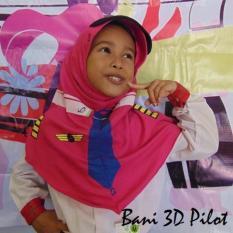KERUDUNG ANAK BANI 3D PILOT RABBANI