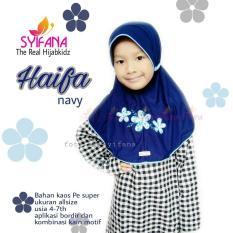 Kerudung Anak Syifana Haifa Series Navy