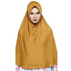 Kerudung Zoya - Bergo Lucy warna Gold