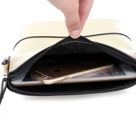KGS Tas Mini Wanita Impor Casual Studded Sling Bag - Emas