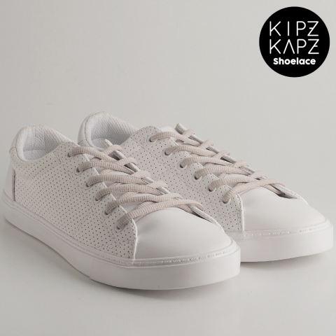 KipzKapz Shoelace - Grey 140cm - Tali Sepatu Oval 6mm