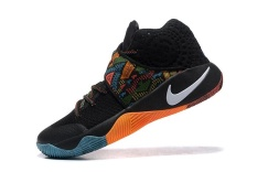 Kyrie 2 BHM EP Irving Basketball Shoe Mens Sneakers Adult Authentic Top Quality Black Size EU:40 - intl
